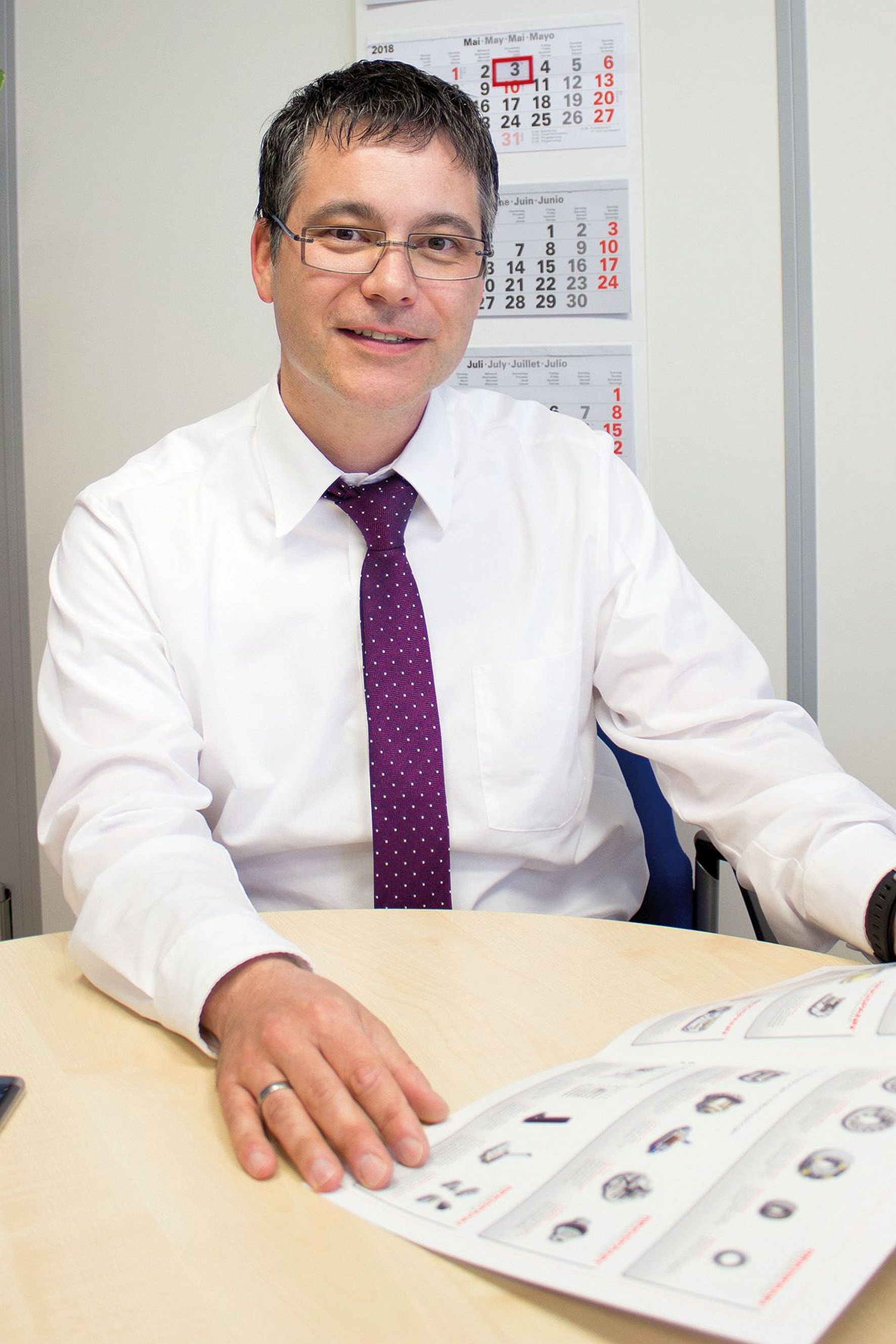 Ringspann RCS Managing director Christian Kny