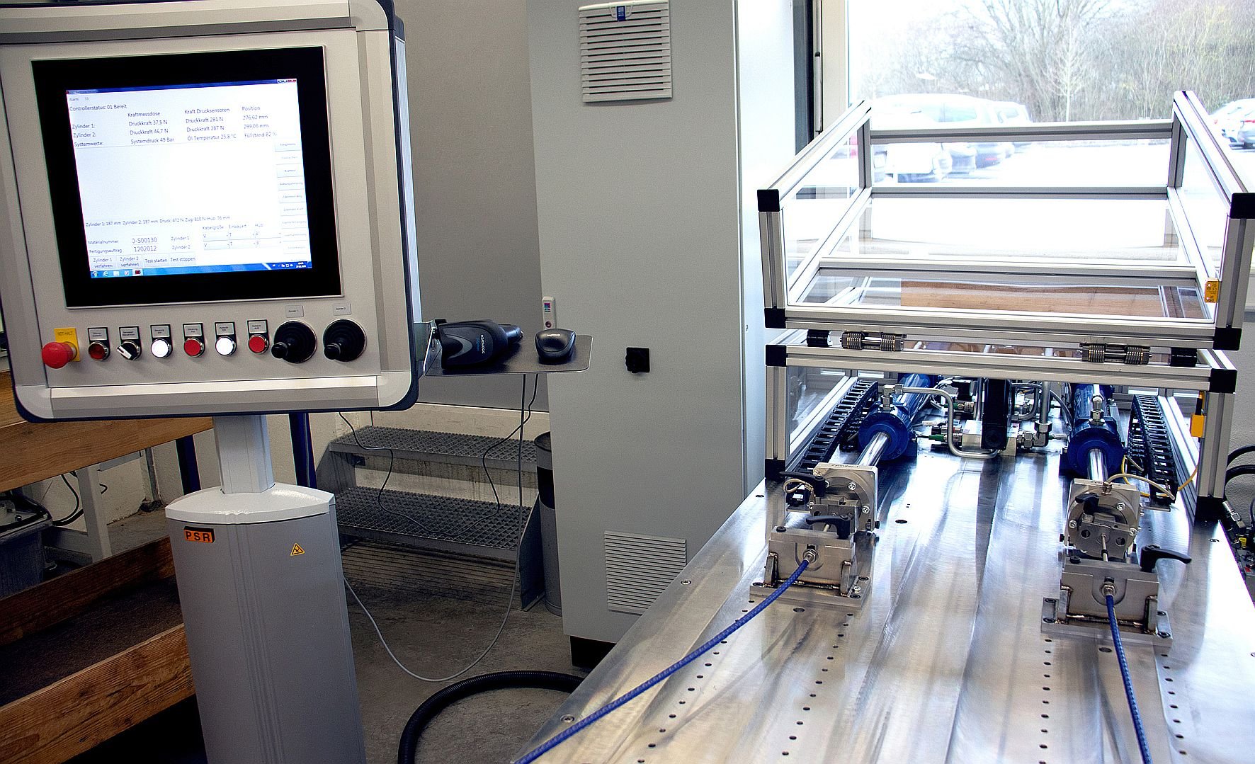 remote control test bench from RINGSPANN RCS